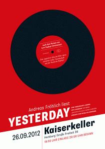 Yesterday Poster Motiv